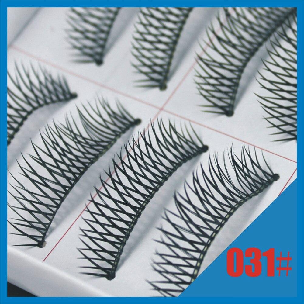 False eyelashes 031# Criss Cross eyelash Black Eye lashes extensions Make up items (100pairs/lot) Free shipping with model show