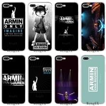 Slim Dance Armin van Buuren тонкий силиконовый мягкий чехол для телефона из ТПУ для iPhone X 8, 8 plus, 7, 7 plus, 6, 6s plus, 5, 5S, 5c, SE, 4 4S
