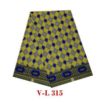 2019african wax prints fabric wax Batik veritable dutch guaranteed high quality V-L 315