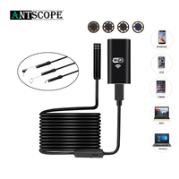HD 2.0MP Wifi Wireless USB Endoscope Hard Cable Android IOS PC 8 LEDS 720P 8mm Lens Car Endoscope Flexible Camera Waterproof 10