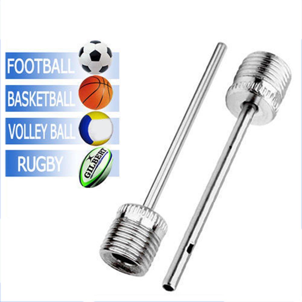 10x Basketball Football Soccer Ball Pump Air Inflating Needle Inflator Adapter