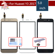High Quality 5.0 For Huawei Y3 2017 CRO-U00 CRO-L02 CRO-L22 Touch Screen Digitizer Sensor Outer Glass Lens Panel Replacement ремни narvin 340544 cro tobacco