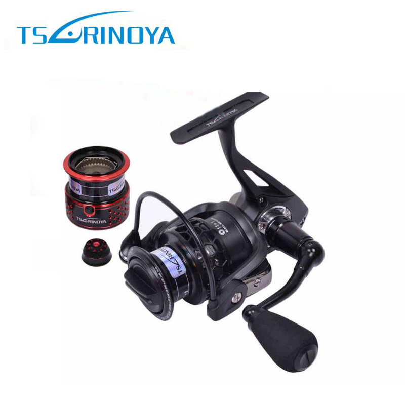 Tsurinoya Spinning Fishing Reel TSP2000 Aluminium Frame and Spool 12 Bearings Power 7kg 260g Fisihing Reel