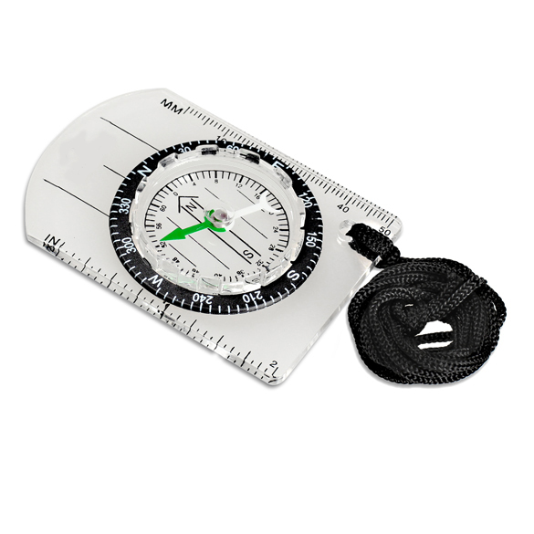 Mini Baseplate Compass Map Scale Ruler Outdoor Camping Hiking Cycling Scouts Military Compass B2Cshop