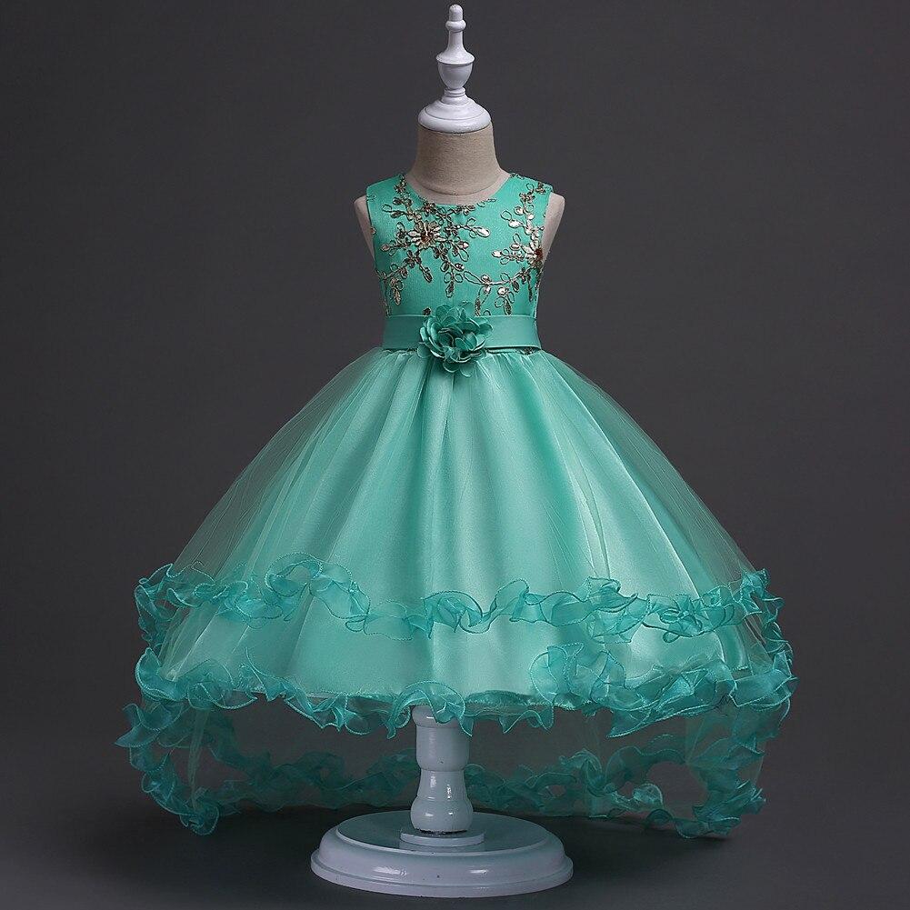 Aliexpress.com : Buy kids Girl princess costume dress child tail ...