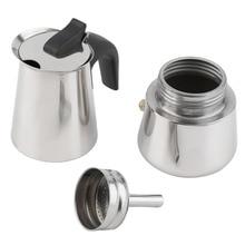 2/4/6 cups High quality Moka coffee kettle maker/moka pot,Espresso kettles coffee makers pot stainless steel moka coffee machi электрокотел рэко 36п 36 квт 380в