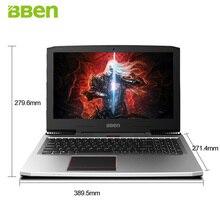 BBEN G16 15 6 IPS Gaming font b Laptop b font Windows10 Intel I7 7700HQ Quad