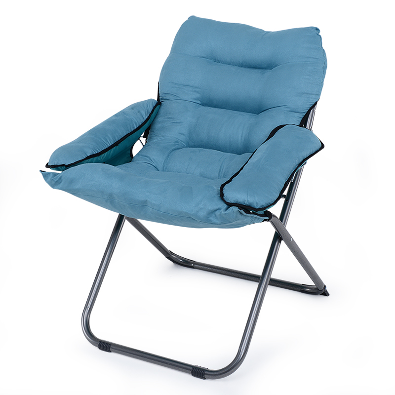Soft Lazy Sofa Single Reclining Chair Soft Thickened Cushion Short Plush Foldable Leisure Computer Chair Dormitory Home in Office Chairs from Furniture