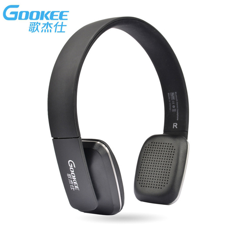 Original GOOKEE Wireless Sports Bluetooth Headphones& Headset Subwoofer Stereo with Microphone for Mobile Phone Music Earphone magift bluetooth headphones wireless wired headset with microphone for sports mobile phone laptop free russia local delivery hot