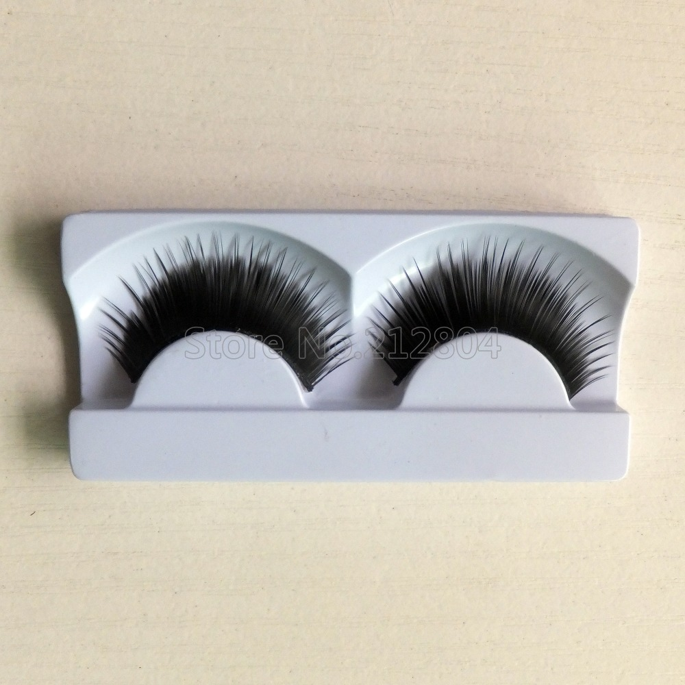 False Eyelashes Professional Thick Fake Lashes Nude Makeup Eyelashes Extentions 1pairs Per Pack With Model Show