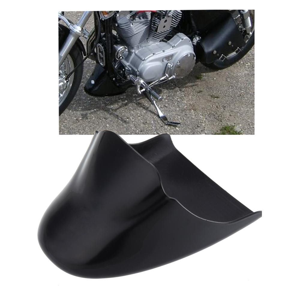 Gloss Black Chin Fairing Front Spoiler For Harley Davidson Sportster 883 XL 1200 2004-2014 xyivyg motorcycle chin fairing front spoiler for harley sportster 1200 883 low xl1200l forty eight 2004 2014