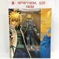"""Frete Grátis 6 """"Anime Naruto Namikaze Minato Moveable Encaixotado 14 cm Ação PVC Figura Coleção Modelo Boneca de Brinquedo de Presente"""