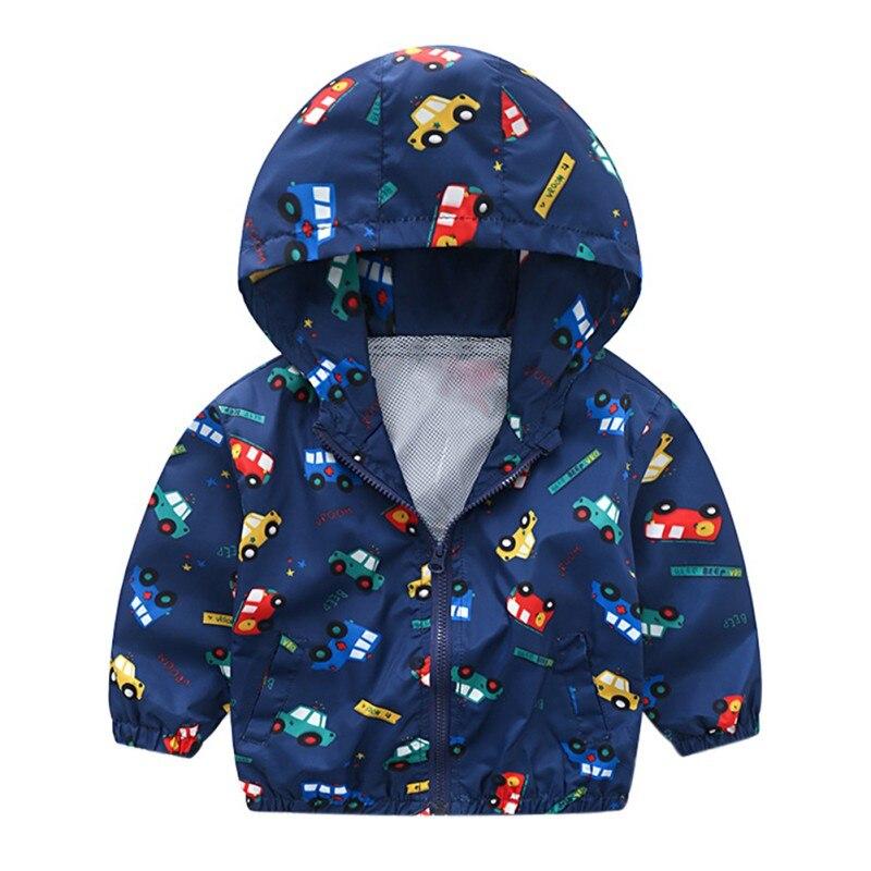 Детская одежда для мальчиков малышей на молнии дети мальчик с капюшоном пальто в полоску Модный плащ верхняя одежда