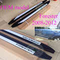 """side step bar/running board for Subaru old Forester 2008 2009 2010 2011 2012, """"OEM"""" model,ISO quality,thicken aluminium alloy"""