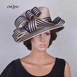 2019 neue design Kentucky Derby Formale Kleid Kirche Hut hochzeit headwear fedora rennen Ascot tee party