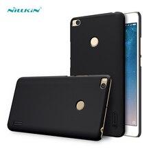 Для Сяо Mi Max 2 Чехол (6.44 дюймов) Nillkin Матовый жесткого пластика задняя крышка для Xiaomi Max 2 Чехол с защитой экрана