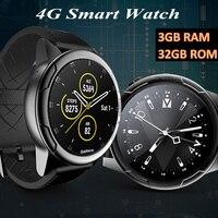 2019 KINYO оригинальные Смарт часы 4G 3 ГБ оперативная память + ГБ 32 Встроенная MTK6739 smartwatch, поддерживает gps Sim карты часы для мужчин pk zeblaze Тор 4 dual