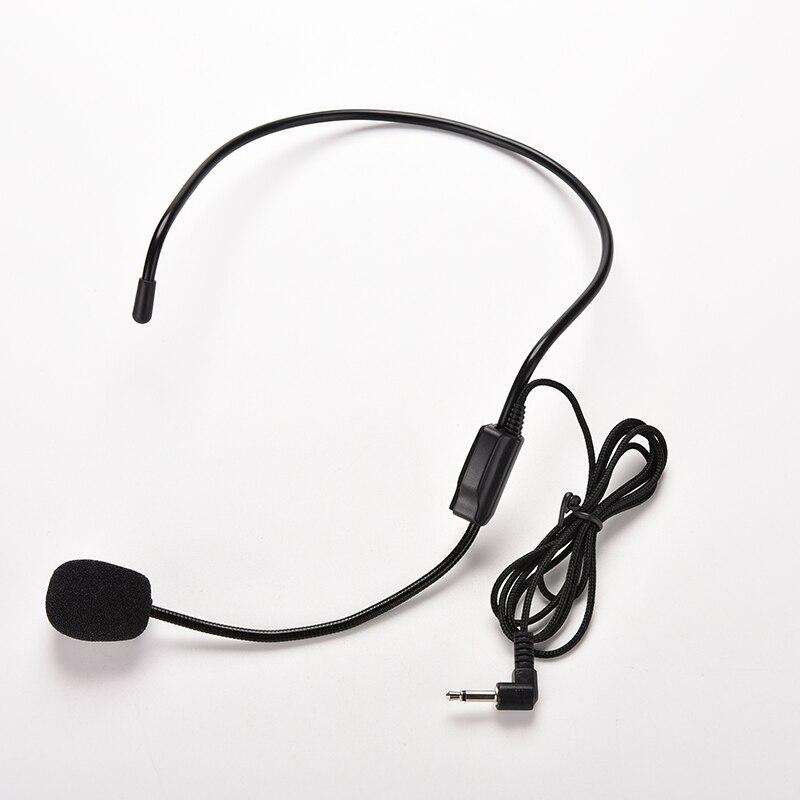 Niedrigerer Preis Mit 3,5mm Wired Mikrofon Headset Studio Konferenz Guide Rede Lautsprecher Ständer Mikrofon Für Stimme Verstärker Tragbaren Mikrofone