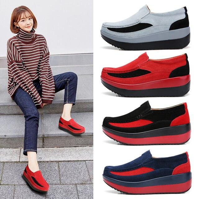 STQ 2020 الخريف النساء أحذية 5