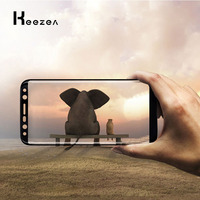 Keezea 10 PCS Tempered Glass For Samsung Galaxy S9 S9 Plus Full Cover High Transparent For Samsung Galaxy S9 S9 Plus Durable