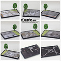 Top Quality Airplane Landing Field Model Airfield Runway Microlandschaft Air Force Airport Model Military Free Shipping