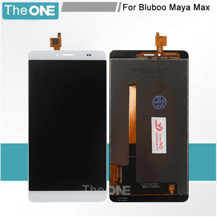 5 pcs LCD Display Touch Screen Digitizer Assembly Replacement Accessories For Bluboo Maya Max 6.0 Inch Touch Panel + Repair