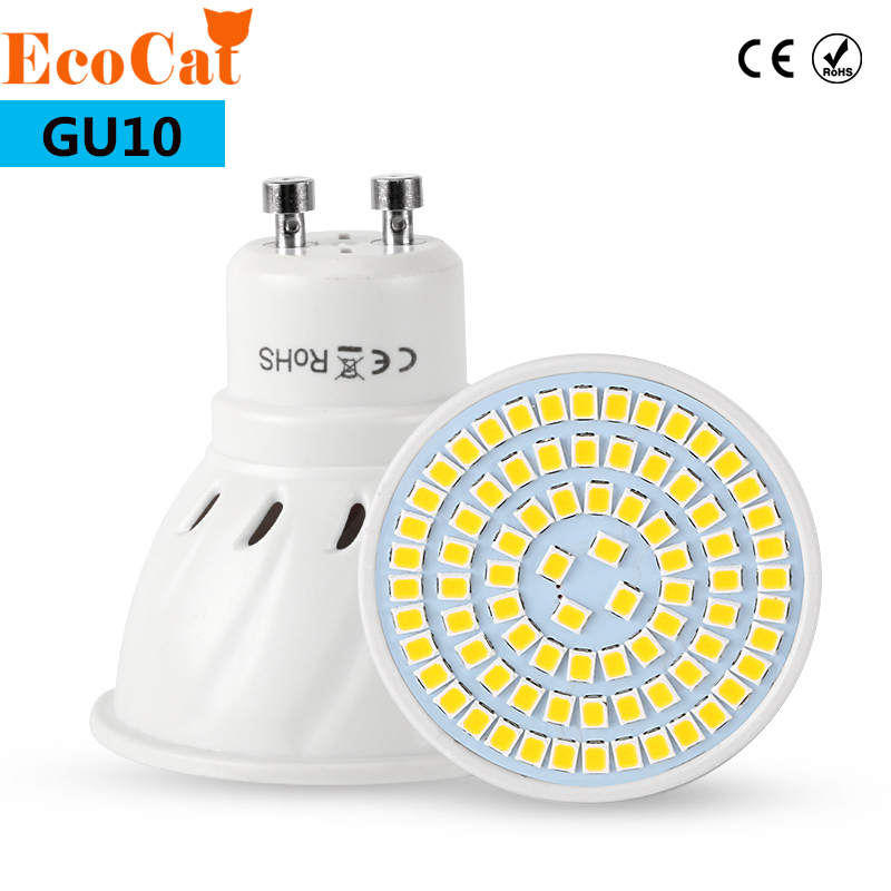 GU10 LED Bulb 220V Lampada LED Lamp 2835 5730 Ampoule LED Spotlight GU10 Bombillas Lamparas Spot light Candle Luz Spot luz технопарк машинка инерционная уаз hunter полиция