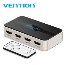 Vention HDMI Splitter Adapter 3 In 1 Out Switcher 3X1 for XBOX 360 PS4/PS3 Smart Android HDTV 4K*2K HD Switch