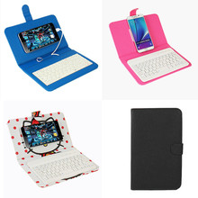 Keyboard Phone Cases for iphone 7 7plus Cover Wireless Bluetooth Cover Case for xiaomi mi5 General USB Phone Holder With Sucker