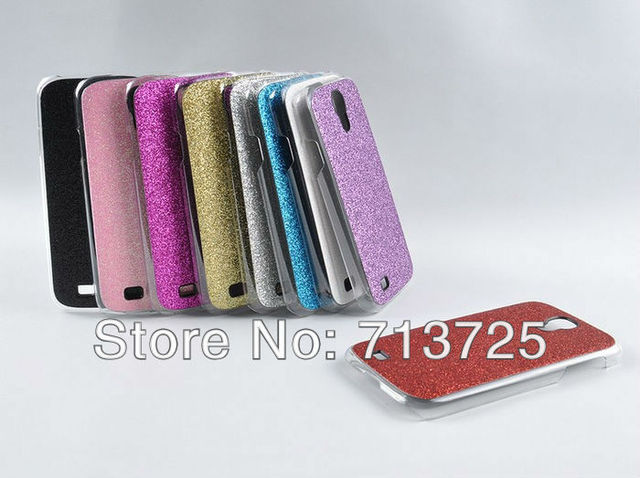 Galaxy S4 Shine Case, Bling Rhinestone Case for Samsung Galaxy S4 i9500 Designer Case, 9 Colors, 10pcs/Lot, DHL Free Shipping