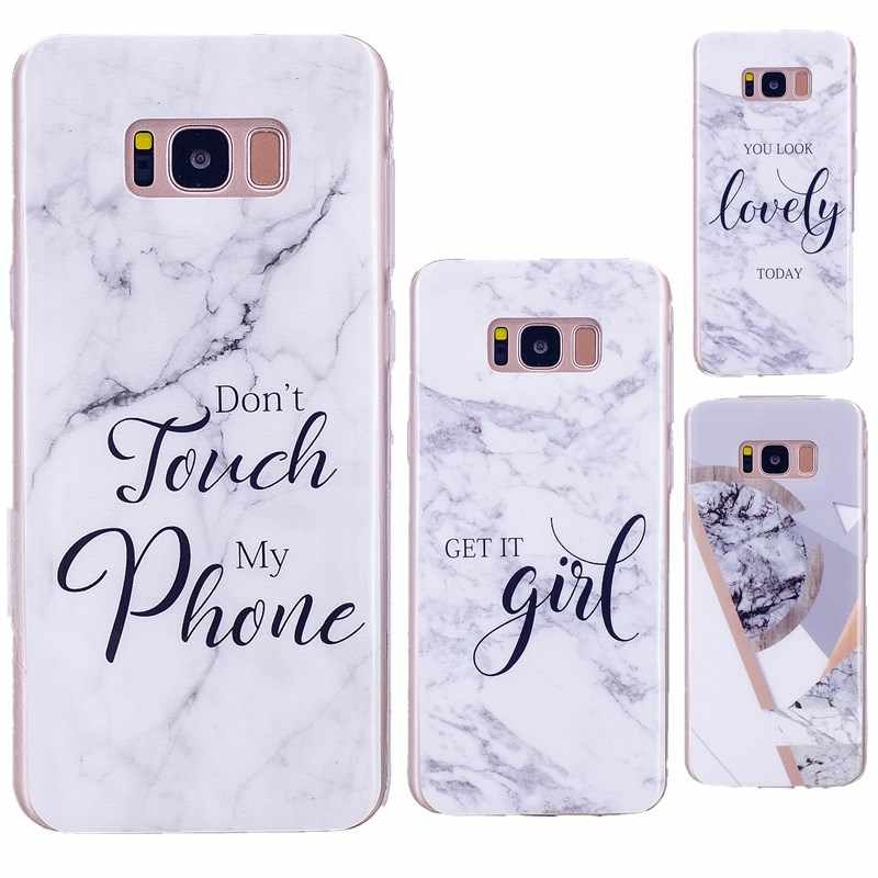 Marble Case for Samsung Galaxy A 3 5 2017 J 330 530 730 400 600 810 A6 A6PLUS 2018 Soft Tpu J4 J6 J8 2018 J3 J5 2016 Fundas
