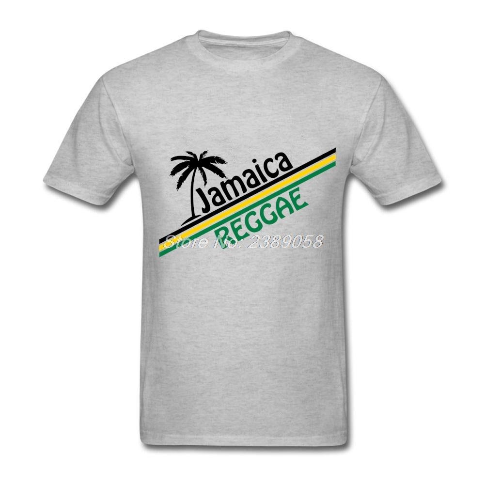 Brand Clothing Men's tshirt Custom Made Jamaica Reggae Tee ...