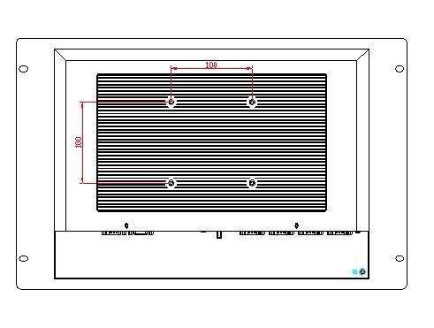 15 colių stovo tvirtinimo pulto kompiuteris, be ventiliatoriaus, - Pramoniniai kompiuteriai ir priedai - Nuotrauka 2