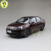 1/18 Citroen C4 C4L Diecast car model Toys Kids Boy Girl Birthday GIFTS Brown