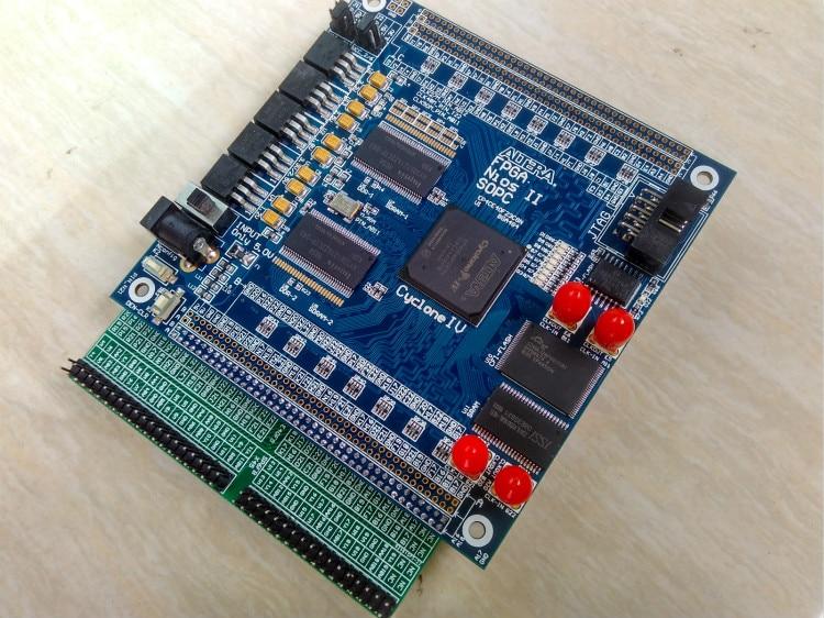 Free Shipping USB Blaster+ALTERA FPGA Cyclone IV  EP4CE40F23C8N Development Board fpga development board fpga altera board