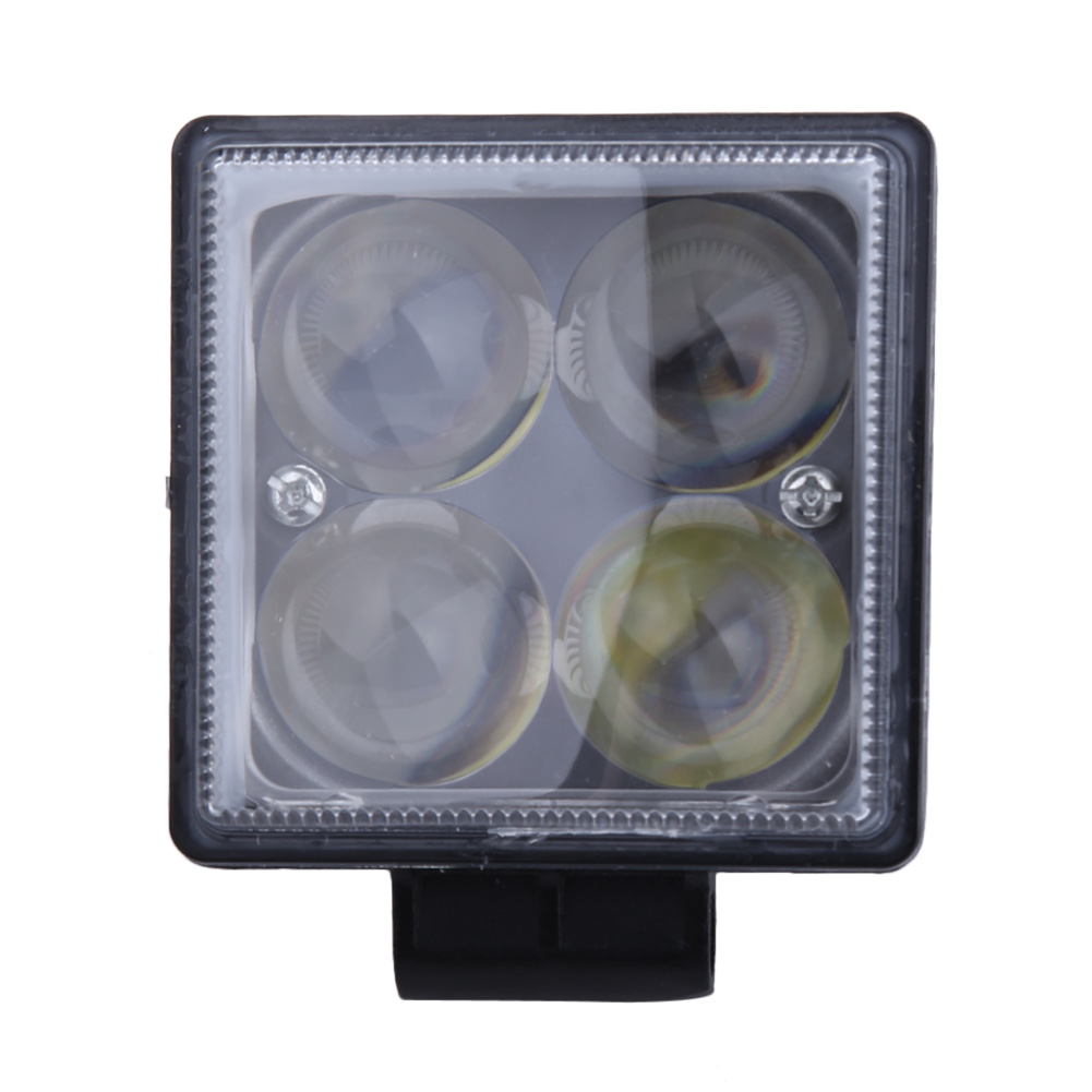 Newest 12W Car Spot Worklight Head Lamp Truck Motorcycle Off Road Fog Lamp Tractor Car LED Headlight Work Lights Square/Round