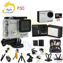Спортивная водонепроницаемая камера goodpa p50 ultra hd 4k 30fps