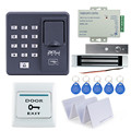 Full set Fingerprint+RFID EM cards  Door Lock Access Control Controller Kit for access control with magnetic lock