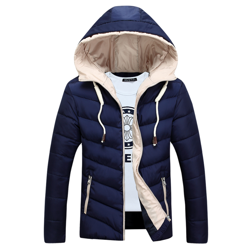 Free Shipping Mens Warm Cotton Lining Winter Pactwork Down Jacket Men Parka Outwear Coats Winter Jacket Men,d0282 free shipping winter jacket men down parka warm coat hooded cotton down jackets coat men warm outwear parka 225hfx