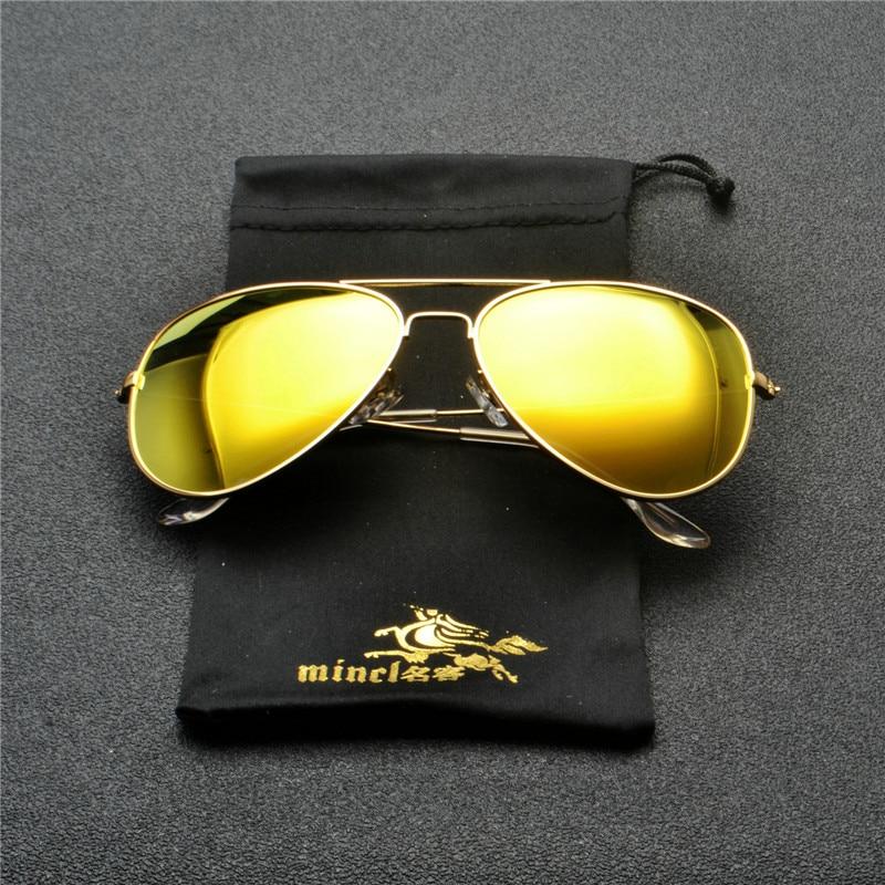 2018 Men mirror Polarized Sunglasses Classic Men Retro Shades Brand Designer Pilot Sun glasses Women Retro Glasses goggle FML 1
