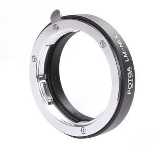 Image 3 - FOTGA LM NEX Adapter Ring für Leica M Objektiv Sony E Mount A7III A9 A7R A6000 A3000 NEX 7 6 5 3 5N 3VG10E VG20E