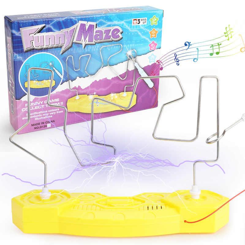 Интеллектуально развивающая игрушка электрический сенсорный лабиринт игра фокус Наука для детей увеличение концентрации без утечки энергии