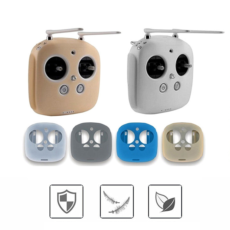 Phantom 3 / 4 Remote Control Silicone Protective Cover Sleeve Case for DJI Phantom 4 3 Professional / Advanced Inspire 1