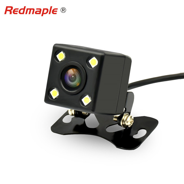 4 LED Car Rear view Camera Universal Backup Parking Camera Waterproof Reversing Night Vision 170 Degree Wide Angle HD Image
