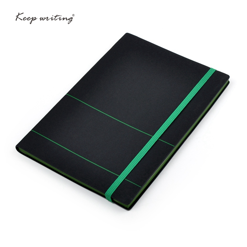 A5 notebook with elastic band journal book with 80 sheets(160 pages)paper notepad faux leather cover planner journals stationery a5 red cover writing pu faux leather notebook spiral notebook smart reusable erasable journal notepad planner with metal lock