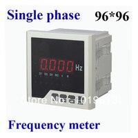 LED ac digital frequency meter panel meter