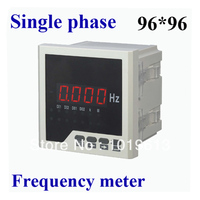 LED ac digital frequency meter panel meter