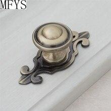 Drawer Knobs Dresser Handles / Bronze Retro  Cabinet Door Vintage Furniture Handle Hardware Back Plate Antique Style
