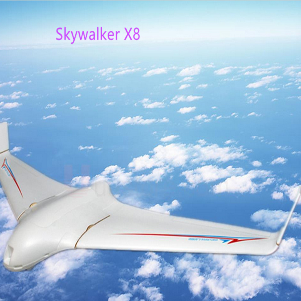 Latest versopm FPV Skywalker white x8 x-8 airplane 2 meter 2122mm epo large flying wing Best FPV airplane kit remote control toy