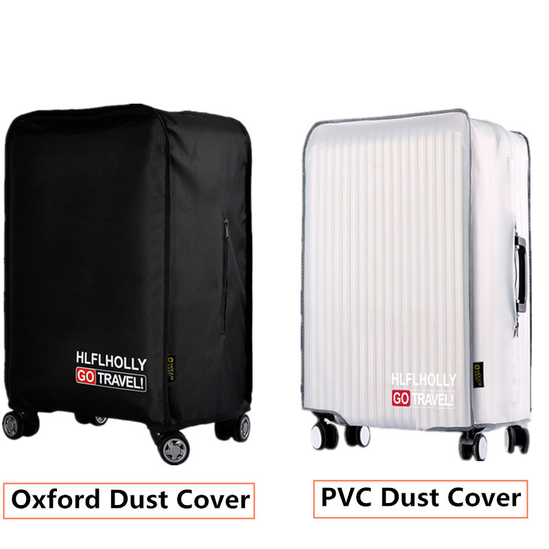 Men Women PVC Transparent Protective Dust Cover For Luggage Waterproof Trolley Case Rain Bags Travel Suitcase Accessory Product